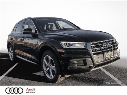 2018 Audi Q5 2.0T Progressiv (Stk: 20568) in Windsor - Image 1 of 29