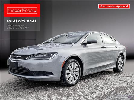 2015 Chrysler 200 LX (Stk: a1002) in Ottawa - Image 1 of 25