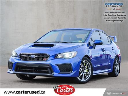 2019 Subaru WRX STI Sport-tech w/Wing (Stk: 18302L) in Calgary - Image 1 of 29