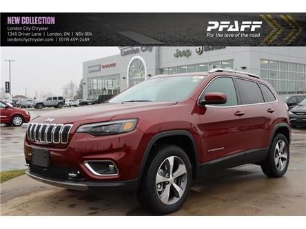 2021 Jeep Cherokee Limited (Stk: LC21117) in London - Image 1 of 22