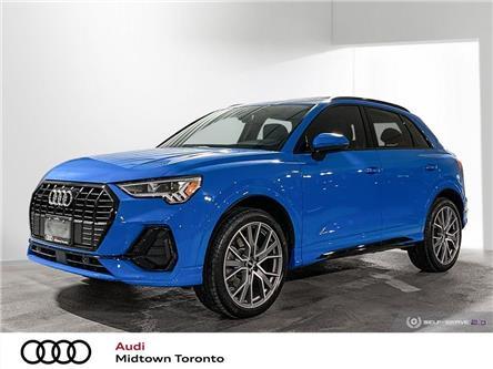2020 Audi Q3 45 Technik (Stk: P8467) in Toronto - Image 1 of 25