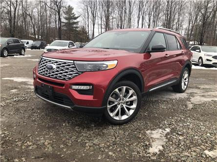 2021 Ford Explorer Platinum (Stk: EX21036) in Barrie - Image 1 of 18