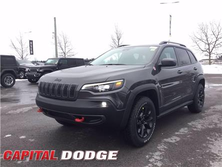 2021 Jeep Cherokee Trailhawk (Stk: M00111) in Kanata - Image 1 of 29