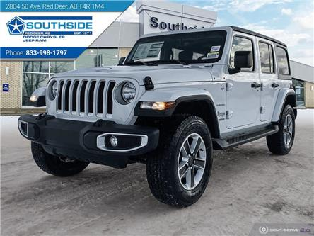 2021 Jeep Wrangler Unlimited Sahara (Stk: WR2111) in Red Deer - Image 1 of 25