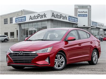 2019 Hyundai Elantra Preferred (Stk: APR9666) in Mississauga - Image 1 of 19