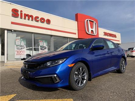 2021 Honda Civic EX (Stk: 21017) in Simcoe - Image 1 of 19