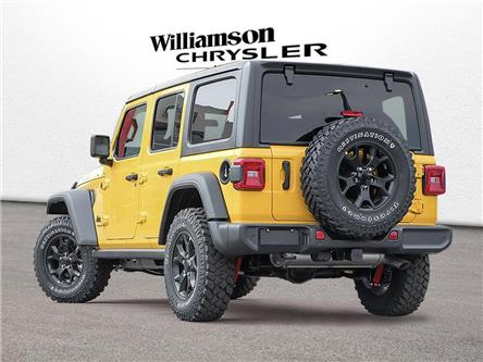 2021 Jeep Wrangler Unlimited Sport (Stk: 21-126) in Uxbridge - Image 1 of 18