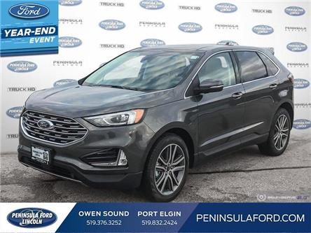 2020 Ford Edge Titanium (Stk: 20ED49) in Owen Sound - Image 1 of 25