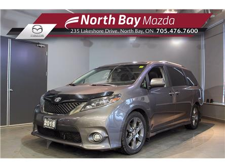2015 Toyota Sienna SE 8 Passenger (Stk: 20132A) in North Bay - Image 1 of 25