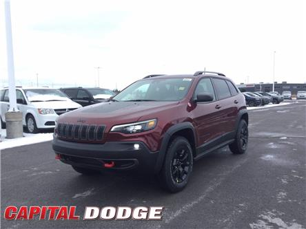 2021 Jeep Cherokee Trailhawk (Stk: M00103) in Kanata - Image 1 of 30
