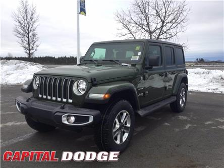 2021 Jeep Wrangler Unlimited Sahara (Stk: M00106) in Kanata - Image 1 of 27