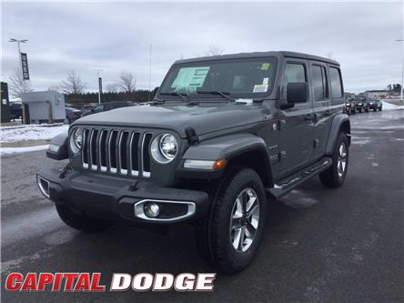 2021 Jeep Wrangler Unlimited Sahara (Stk: M00105) in Kanata - Image 1 of 25