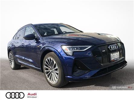 2021 Audi e-tron 55 Technik (Stk: 21007) in Windsor - Image 1 of 30