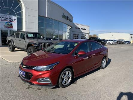 2017 Chevrolet Cruze LT Auto (Stk: U04657) in Chatham - Image 1 of 23