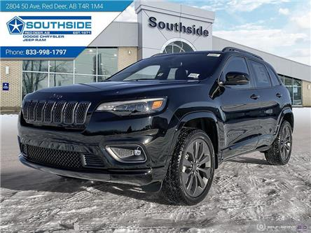 2021 Jeep Cherokee Limited (Stk: CE2116) in Red Deer - Image 1 of 25