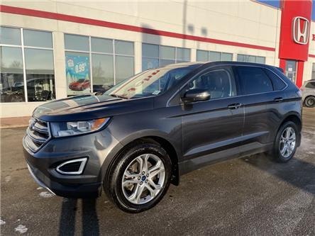 2017 Ford Edge Titanium (Stk: U1204) in Fort St. John - Image 1 of 25