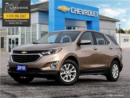 2018 Chevrolet Equinox 1LT (Stk: T1035A) in Kincardine - Image 1 of 28