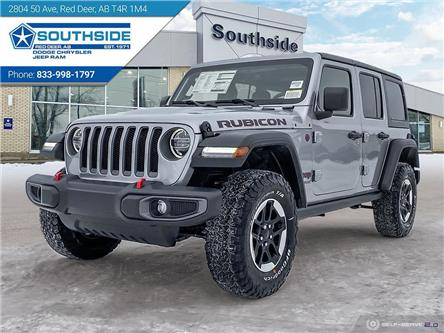 2021 Jeep Wrangler Unlimited Rubicon (Stk: WR2115) in Red Deer - Image 1 of 25