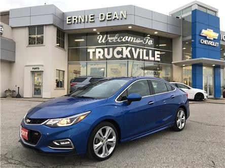 2017 Chevrolet Cruze Premier Auto (Stk: P2253) in Alliston - Image 1 of 22
