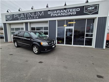2014 Dodge Grand Caravan Crew (Stk: 186146) in Kingston - Image 1 of 10