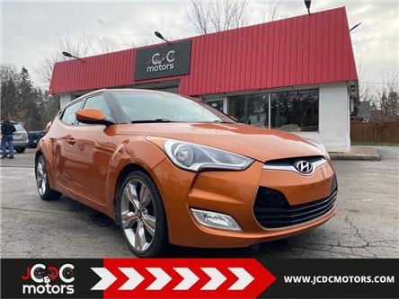 2012 Hyundai Veloster Tech (Stk: ) in Cobourg - Image 1 of 17