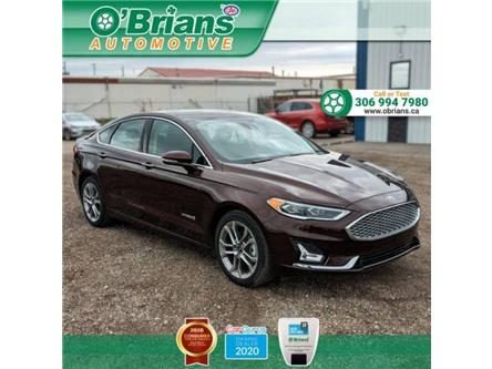 2019 Ford Fusion Hybrid Titanium (Stk: 13791A) in Saskatoon - Image 1 of 23