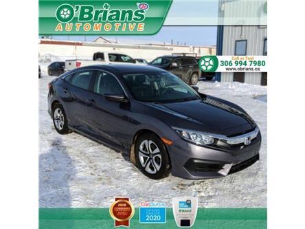 2018 Honda Civic LX (Stk: 13967A) in Saskatoon - Image 1 of 19