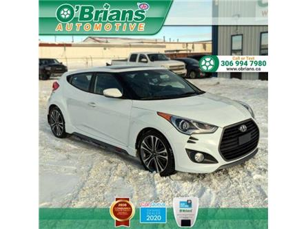 2017 Hyundai Veloster Turbo (Stk: 14003A) in Saskatoon - Image 1 of 22