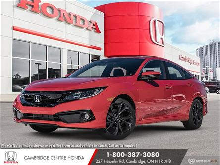 2021 Honda Civic Sport (Stk: 21473) in Cambridge - Image 1 of 22