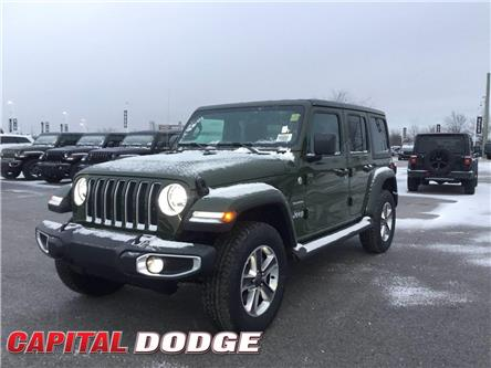 2021 Jeep Wrangler Unlimited Sahara (Stk: M00127) in Kanata - Image 1 of 26