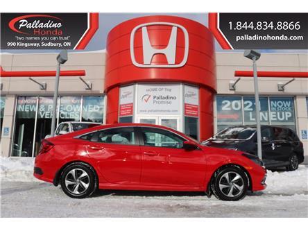 2020 Honda Civic LX (Stk: 22137D) in Greater Sudbury - Image 1 of 31