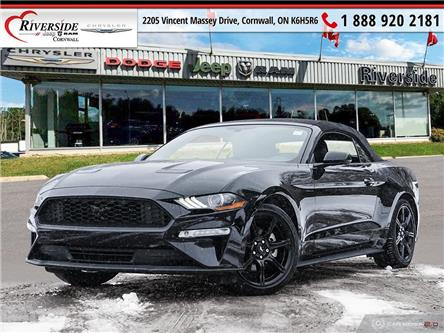 2019 Ford Mustang EcoBoost Premium (Stk: V02005) in Cornwall - Image 1 of 27