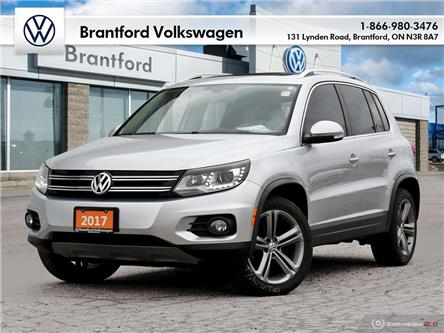 2017 Volkswagen Tiguan Highline (Stk: TI203151A) in Brantford - Image 1 of 25