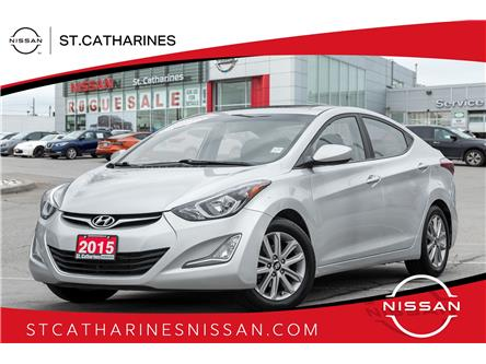 2015 Hyundai Elantra Sport Appearance (Stk: SSP362) in St. Catharines - Image 1 of 18