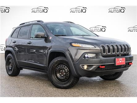 2018 Jeep Cherokee Trailhawk (Stk: 34643AU) in Barrie - Image 1 of 22