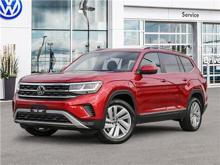 2021 Volkswagen Atlas 3.6 FSI Highline (Stk: A21033) in Sault Ste. Marie - Image 1 of 23