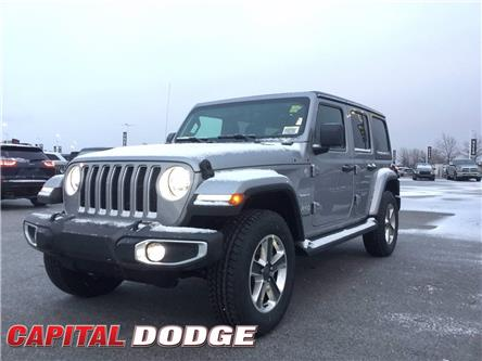 2021 Jeep Wrangler Unlimited Sahara (Stk: M00107) in Kanata - Image 1 of 27