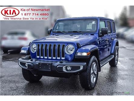 2018 Jeep Wrangler Unlimited Sahara (Stk: P1317) in Newmarket - Image 1 of 19