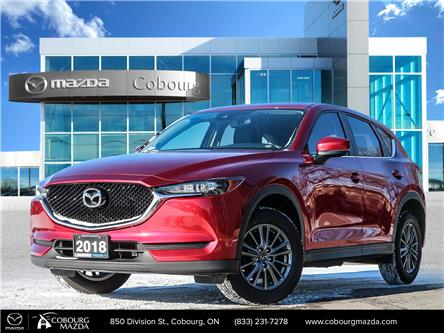 2018 Mazda CX-5 GS (Stk: 21060A) in Cobourg - Image 1 of 27