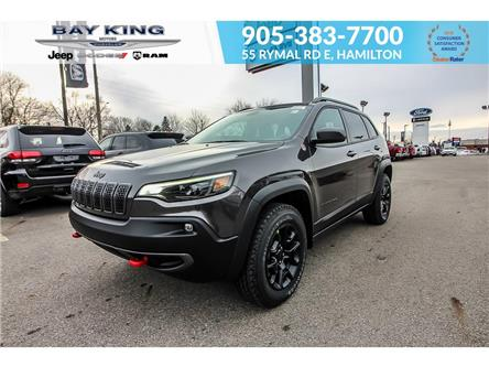 2021 Jeep Cherokee Trailhawk (Stk: 46978730) in Hamilton - Image 1 of 30