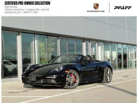 2019 Porsche 718 Boxster S PDK (Stk: U9269) in Vaughan - Image 1 of 21
