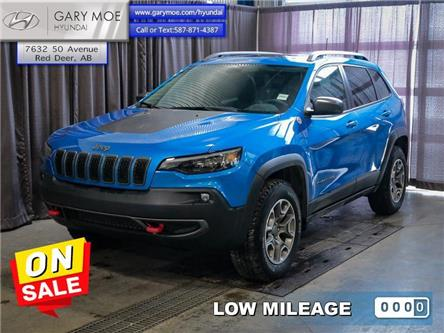 2020 Jeep Cherokee Trailhawk (Stk: 0TG6619A) in Red Deer - Image 1 of 26