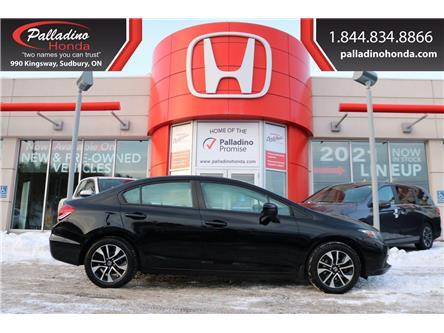 2015 Honda Civic EX (Stk: 22782A) in Greater Sudbury - Image 1 of 33