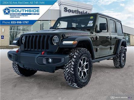2021 Jeep Wrangler Unlimited Rubicon (Stk: WR2120) in Red Deer - Image 1 of 25