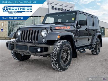 2016 Jeep Wrangler Unlimited Sahara (Stk: W19469B) in Red Deer - Image 1 of 25