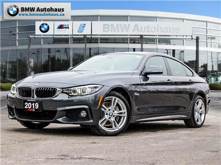 2019 BMW 430i xDrive Gran Coupe (Stk: P9956) in Thornhill - Image 1 of 31