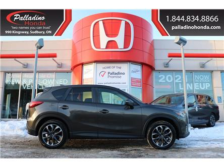 2016 Mazda CX-5 GT (Stk: U9838A) in Greater Sudbury - Image 1 of 35