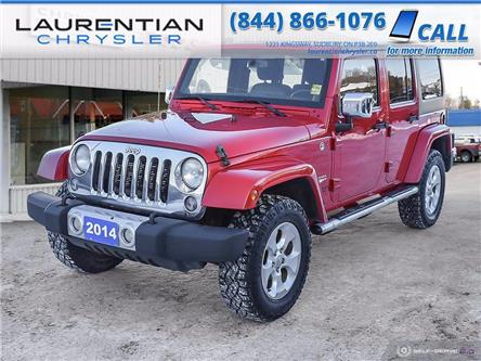 2014 Jeep Wrangler Unlimited Sahara (Stk: 21074A) in Greater Sudbury - Image 1 of 22