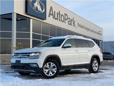 2019 Volkswagen Atlas 3.6 FSI Highline (Stk: 19-41016RJB) in Barrie - Image 1 of 32