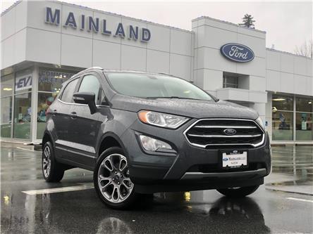 2020 Ford EcoSport Titanium (Stk: 20EC6073) in Vancouver - Image 1 of 30